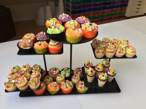 Sweettable - Sweet table Halloween cupcakes