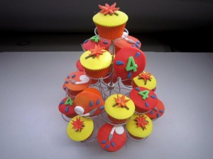 Cupcakes - Cupcakes in thema brandweer
